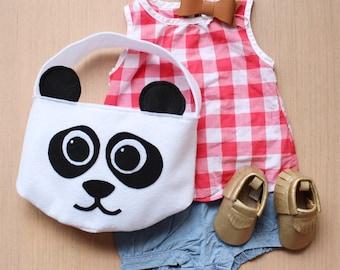 Easter Basket Panda, Easter gifts, Easter bucket, Easter gift ideas, Easter basket ideas, Easter gift baby, kids easter basket,