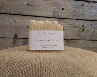 Southern Sweet Magnolia Homemade Soap