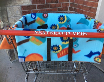 Shopping Cart Seat Cover, Construction Vehicles