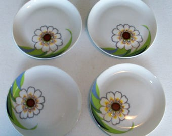 Eschenbach Bavaria Germany Set Of Four Salad Plates