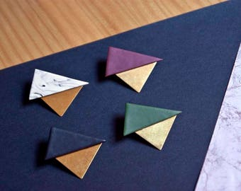 Vilmos brooch · Minimal accesories · Geometric brooch