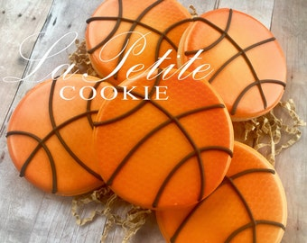 Basketball Cookies (1 dozen)