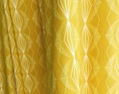 Imperial Diamond Mustard Fabric & Cushion Covers