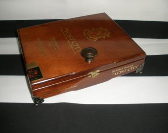 Opus X Lost City Cigar Box Valet, Watch Box, Stash Box, Jewelry Box, Groomsman Gift, Father's Day Gift, Tampa, Fuente