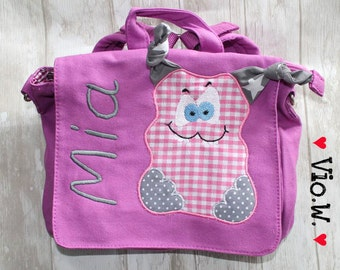 Kindergarten backpack Monsta monster with name