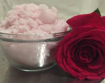 Fresh Rose Body Scrub Sugar Scrub Body Polish by DayDreamLux!