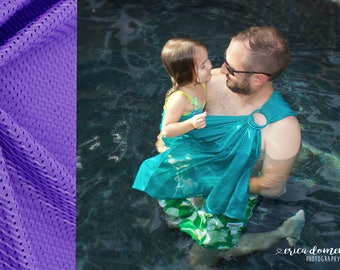 Bibetts 'Purple' Water Ring Sling Baby Carrier - CPSIA compliant - Infant, Toddler and Baby Carrier