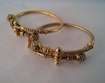 Etruscan Revival Museum Copy Bracelets - Sold as a pair - MFA