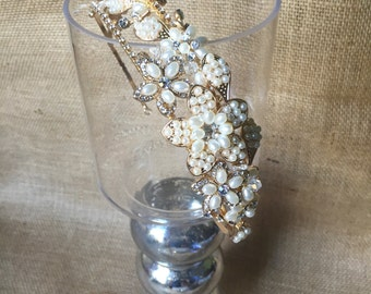 Perfect Pearls-Rose Gold and Pearl Tiara