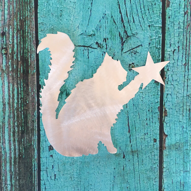 Cat Angel Christmas Tree Topper: Fluffy Kitty Cat Cat Christmas Tree Topper Persian Cat