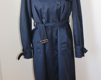 Vintage Burberrys Trench Coat, Navy Burberry Trench Coat, Vintage Burberry, Burberry Jacket, Trench Coat, Burberry, Burberrys