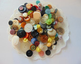 Vintage Button Lot Sewing Buttons Button Destash Vintage Sewing Notions Supplies