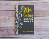20th Century Gospel Songs 1950s Vintage Religious Sheet Music 50s Retro God And Jesus Songs Zondervan Publishing House Grand Rapids Michigan
