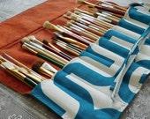 Brush Organizer - Paint Brush Roll - Artist Brush Case - Brush Roll -Paint Brush Case - Paint Brush Holder - Artist Travel Case