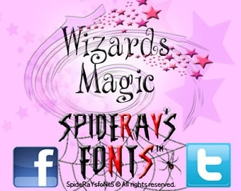 Wizards Magic Commercial Font