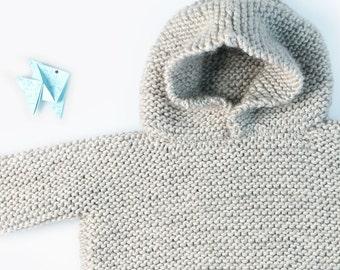 Side Sweater knitting kit