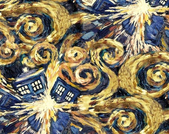 Custom Order For Margaret Reversible Exploding TARDIS Drool Pads Accessories Fit Tula and Ergo Baby Carriers Free USA Ship!