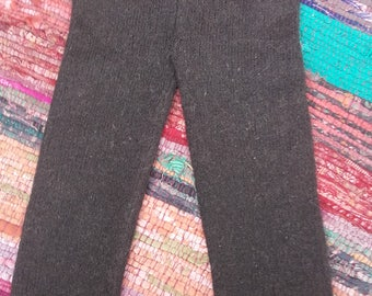Mohair wool mix leggings. Size 12 months