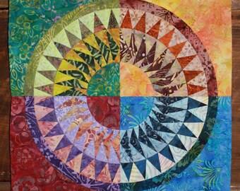 NEW PATTERN-New York Beauty Quilt Block Paper Piecing Pattern - Block 6