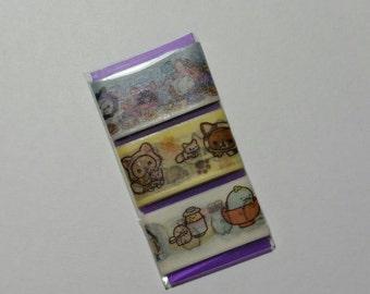 San X Washi Tape Sample Card