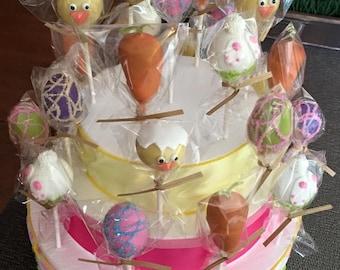 Easter Cake Pops, 12 pops