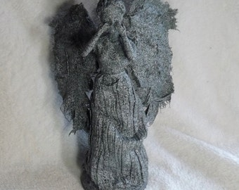 Weeping Angel doll statue made from inspiration from Doctor Who Weeping Angels