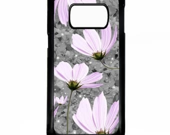 Daisy vintage floral flower daisies pretty girly retro print pattern case for Samsung Galaxy S8 / s8+ plus phone cover