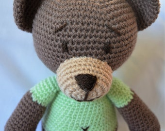 Crochet Bear, Amigurumi Bear, Teddy Bear, Bear, Crochet teddy
