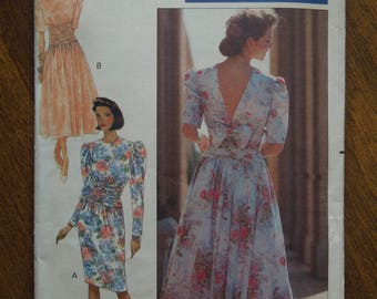 Butterick 4718, sizes vary, dress, UNCUT sewing pattern, craft supplies, womens, misses