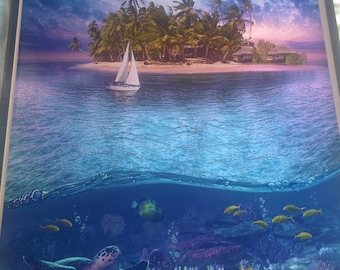 Art Print **Tropical Island** 13x19 Inches MTG