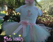1st Birthday Outfit,One Year Old,Pink and Gold,Girls Birthday,1st Birthday Tutu,One Year Old Girl Birthday Outfit,1 Year Old Birthday Girl