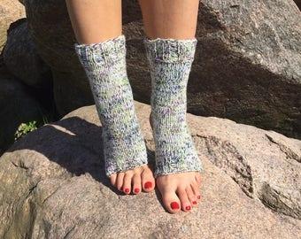 new Yoga Socks Hand Knit Pilates Socks multicolored  Socks Dance Socks Slipper Socks Women  Socks  Colorful Hipster Socks Yoga active wear