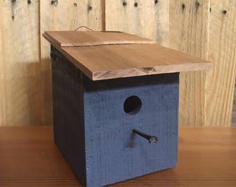 Little blue Birdhouse