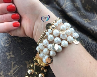 """The """"Jackie O."""" Bracelet/perfect for holiday and christmas gifts"""
