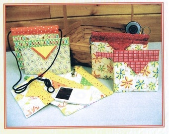 Craft Sewing Pattern - Fat Quarter Quilted Purse Sewing Pattern - Fat Quarter Purse - Fat Quarter Project