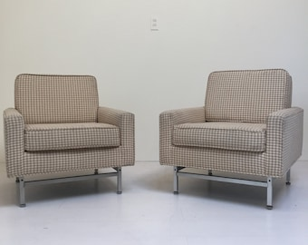 Pair Of Charles Hollis Jones Lucite Chairs By Xcapevintage