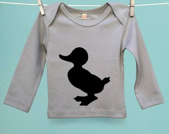Baby Duckling T-Shirt Twinset with Son or Daughter Duck t shirt tee