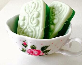 Eucalyptus Mint Shea Butter Soap (vegan) 3 oz. bar (free shipping in the U.S)