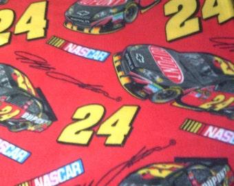 NASCAR 24 Jeff Gordon Full Bed Fleece Blanket