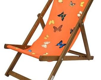 DAMIEN HIRST - 'Deckchair (orange)' - limited edition deckchair - c2008 (first edition. Other Criteria, London)