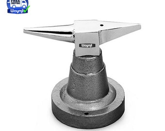Steel Horn Anvil W/ Base For All Purpose Jewelry Forming Metal Tool WA 140-001