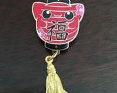 Cat Lantern Pin