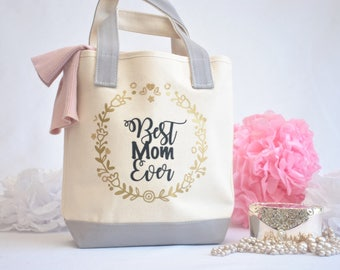 Best Mom Ever Tote Bag Mothers Day Gift Gift for Mom  Mom Gifts  Mom Birthday Gift New Mom Gift  Mother Tote Bag Personalized Gift for Her