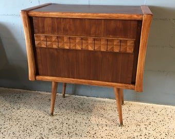 Mid Century Modern Style TV Stand / Bar / Hall Table by Mid Century Metropolis