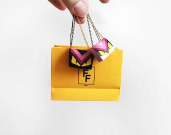 Italian FF Monster Eyes Handbag