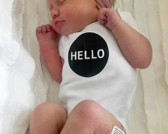 Hello baby onesie Bodysuit
