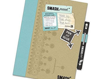 K & Company SMASH Journal Blue RETRO Style New in Package SMASHFOLIO