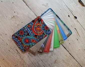 Best Thin Wallet, Womans Wallet, Slim Wallet, Travel Wallet, Front Pocket Wallet, Credit Card Sleeve, Credit Card Wallet, Sophia