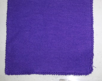 Purple Polishing Cloths for Montessori Primary class