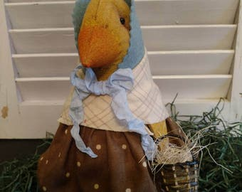 Bess, our primitive Chick dressed to the best